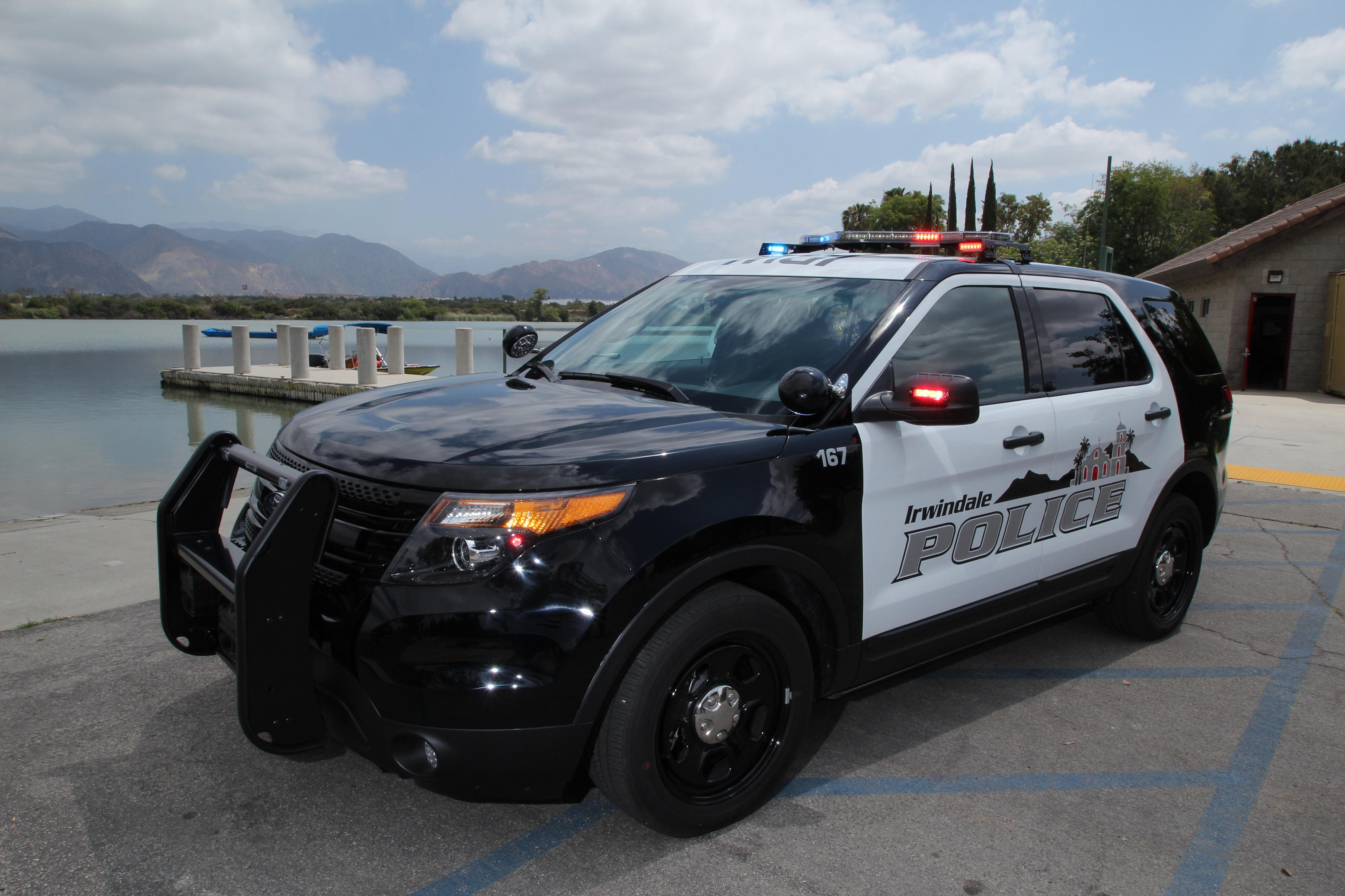 Ford Police Vehicle