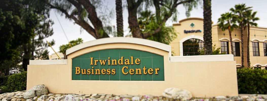 Irwindale Business Center Sign