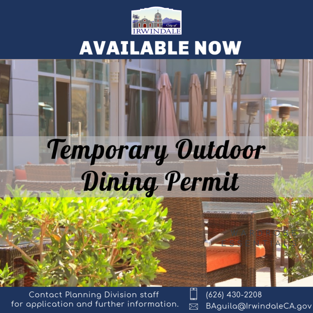 outdoor dining permit