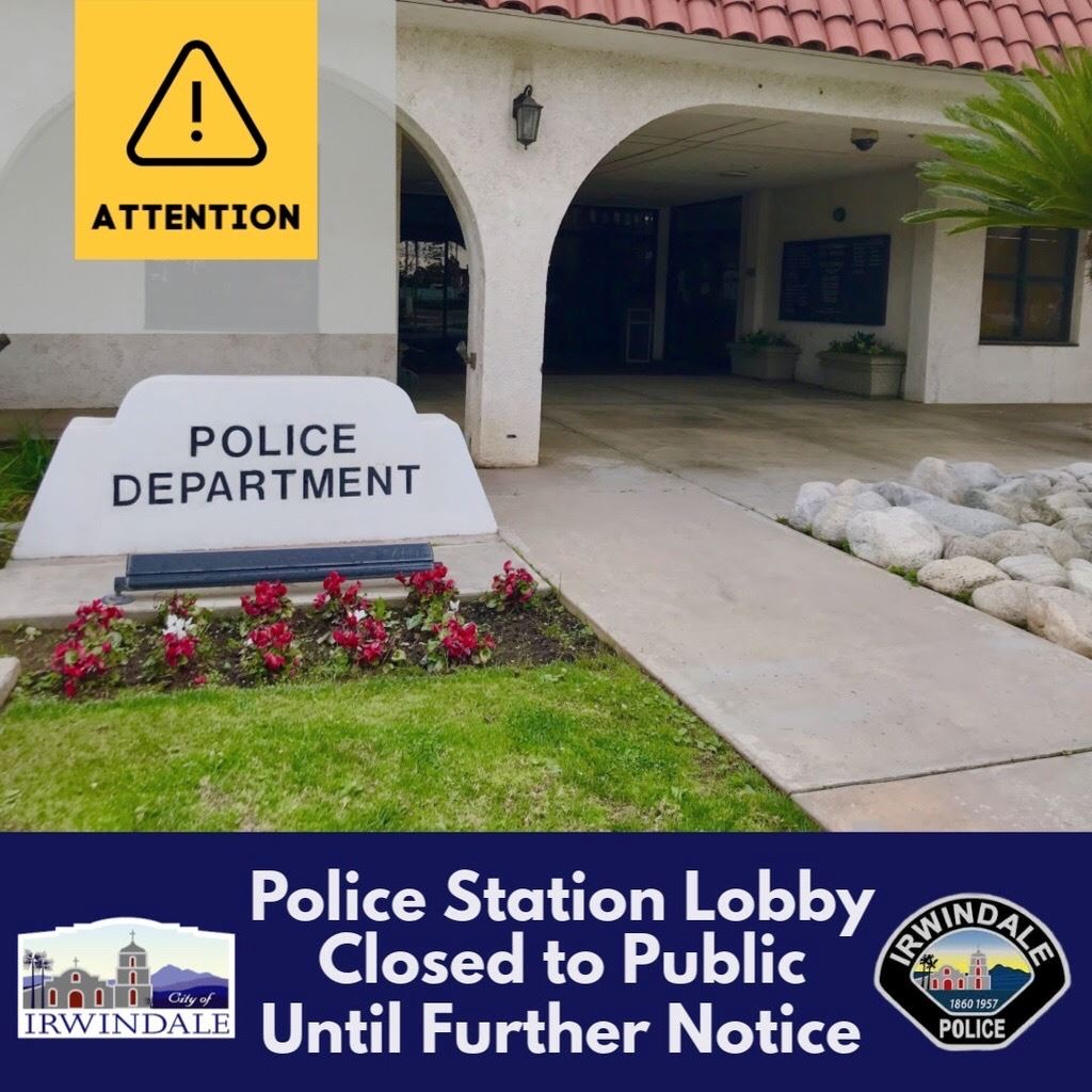 Picture of Public Lobby Closed Flyer