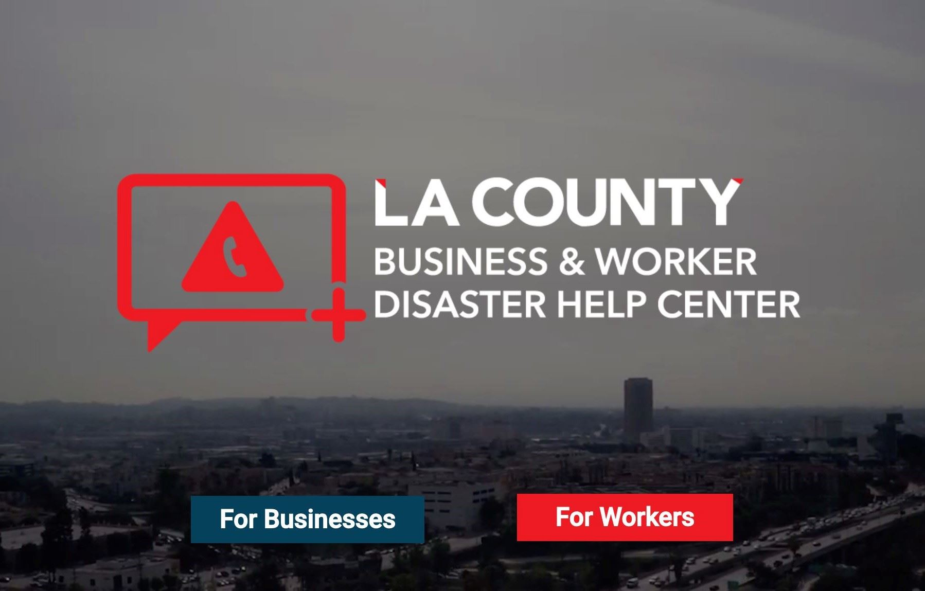 LA County Help Center Opens in new window