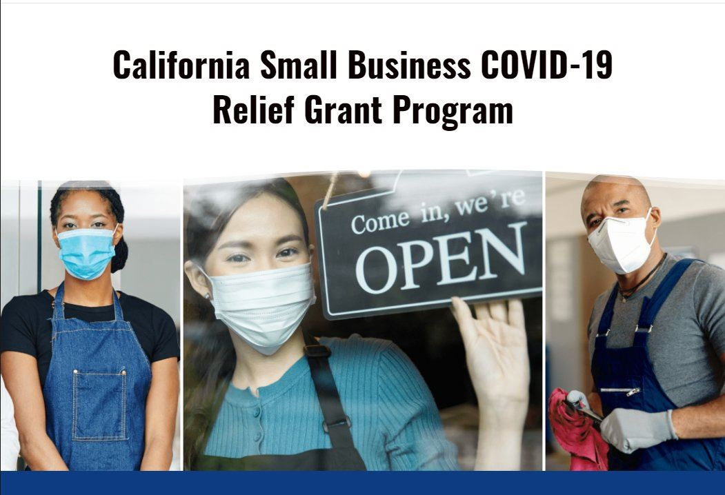 California Small Business Grant Opens in new window
