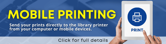 Mobile Printing - Banner Opens in new window