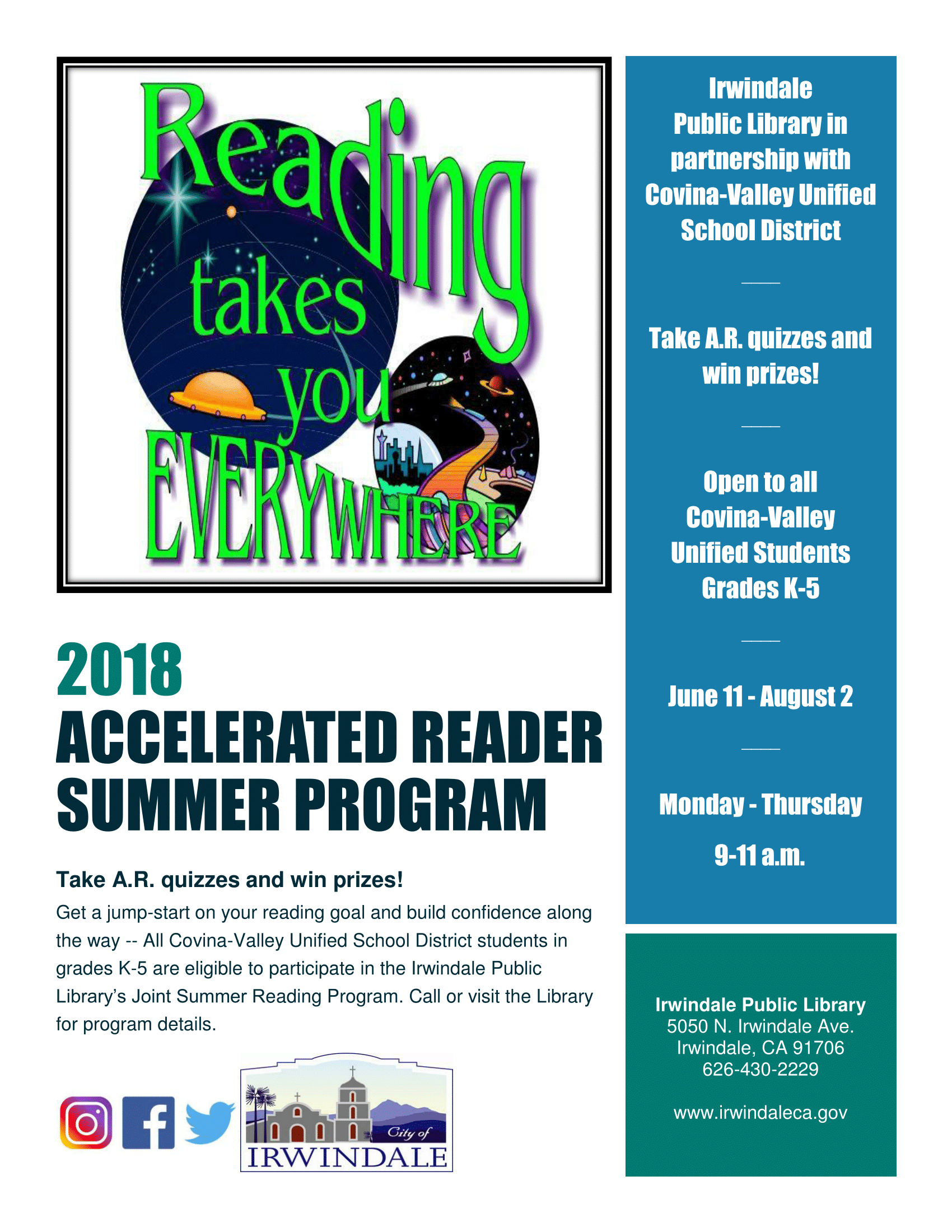 Accelerated Reader Summer Program