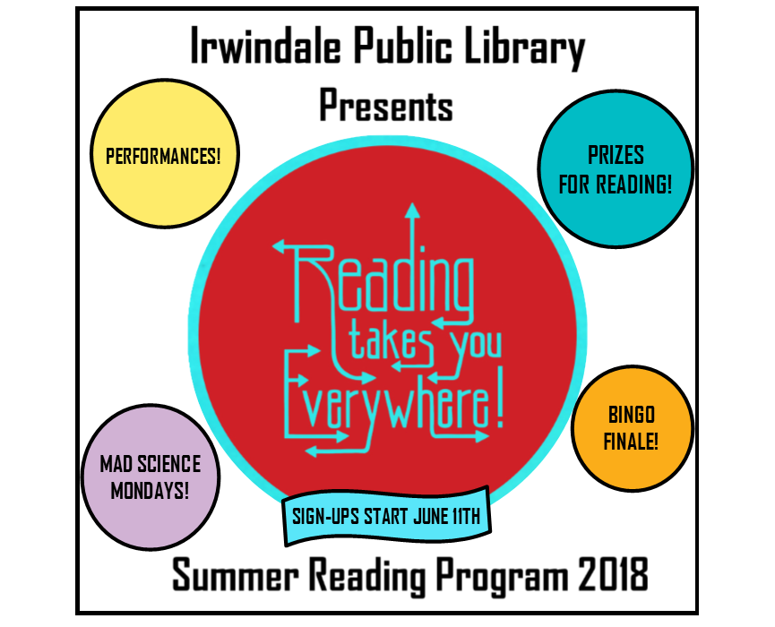 Summer Reading Program 2018 Reading Takes You Everywhere