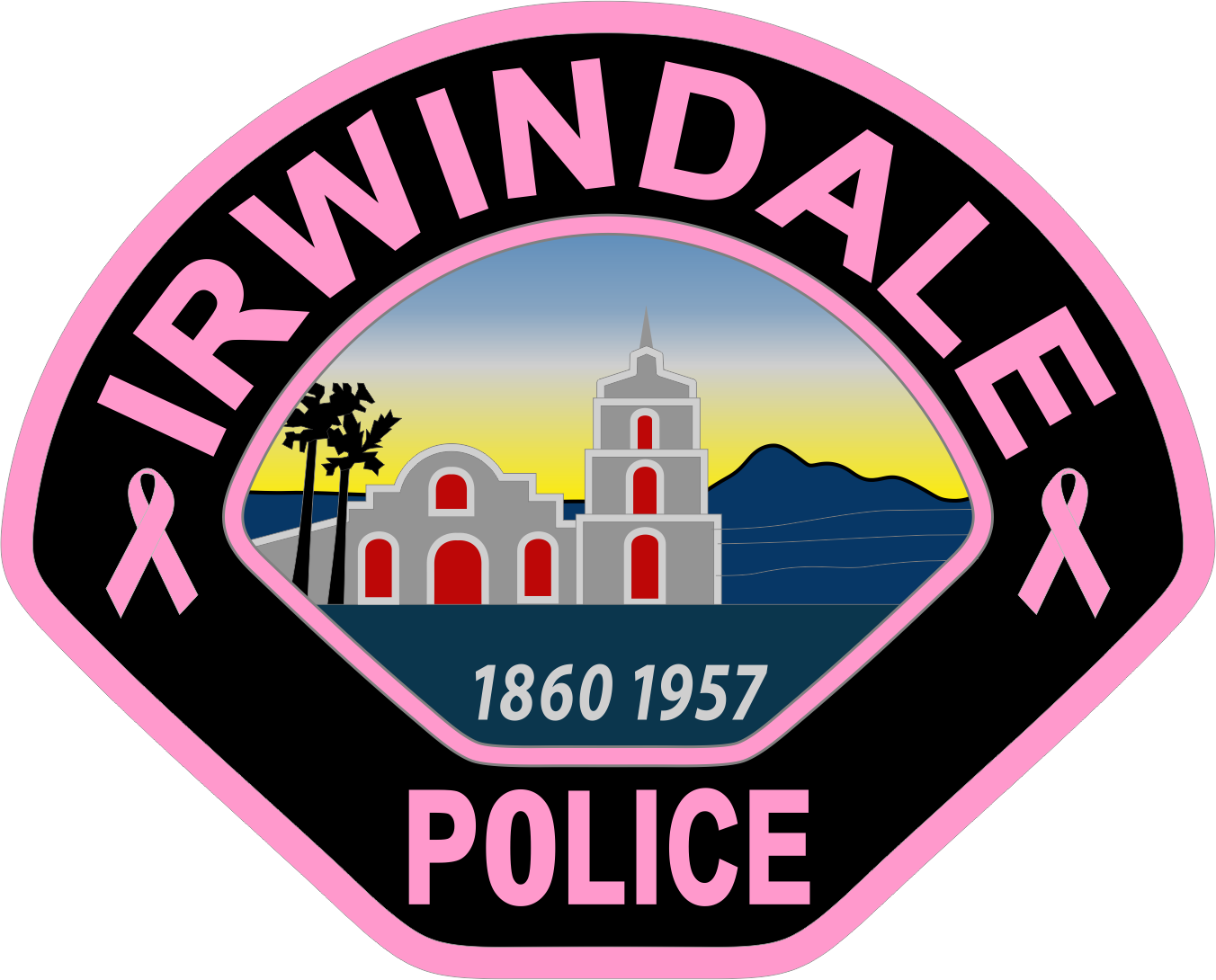 Irwindale Police (CA) - Pink 2018.png