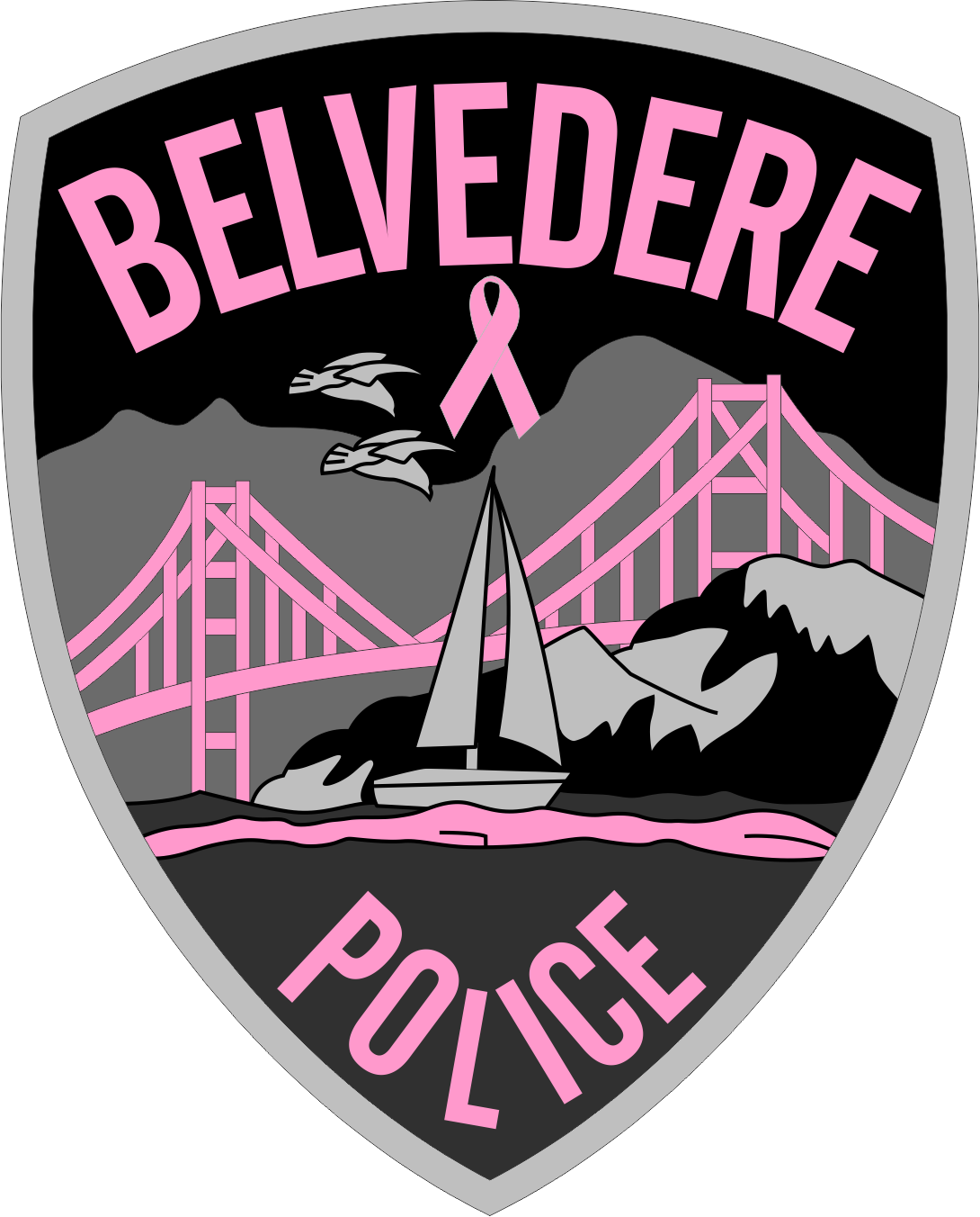 Belvedere Police (CA) - PINK PATCH.png