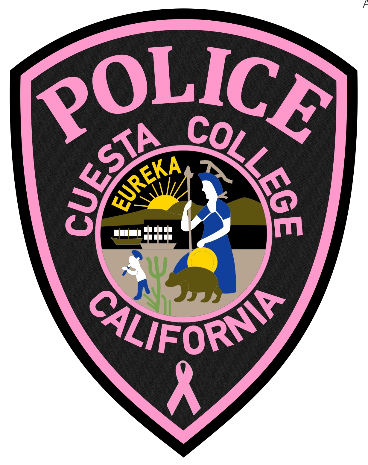 Cuesta College Police (CA) - PINK PATCH COLOR.jpg