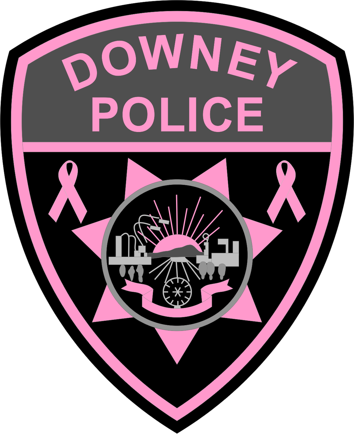 Downey Police (CA) - PINK PATCH 2016.png