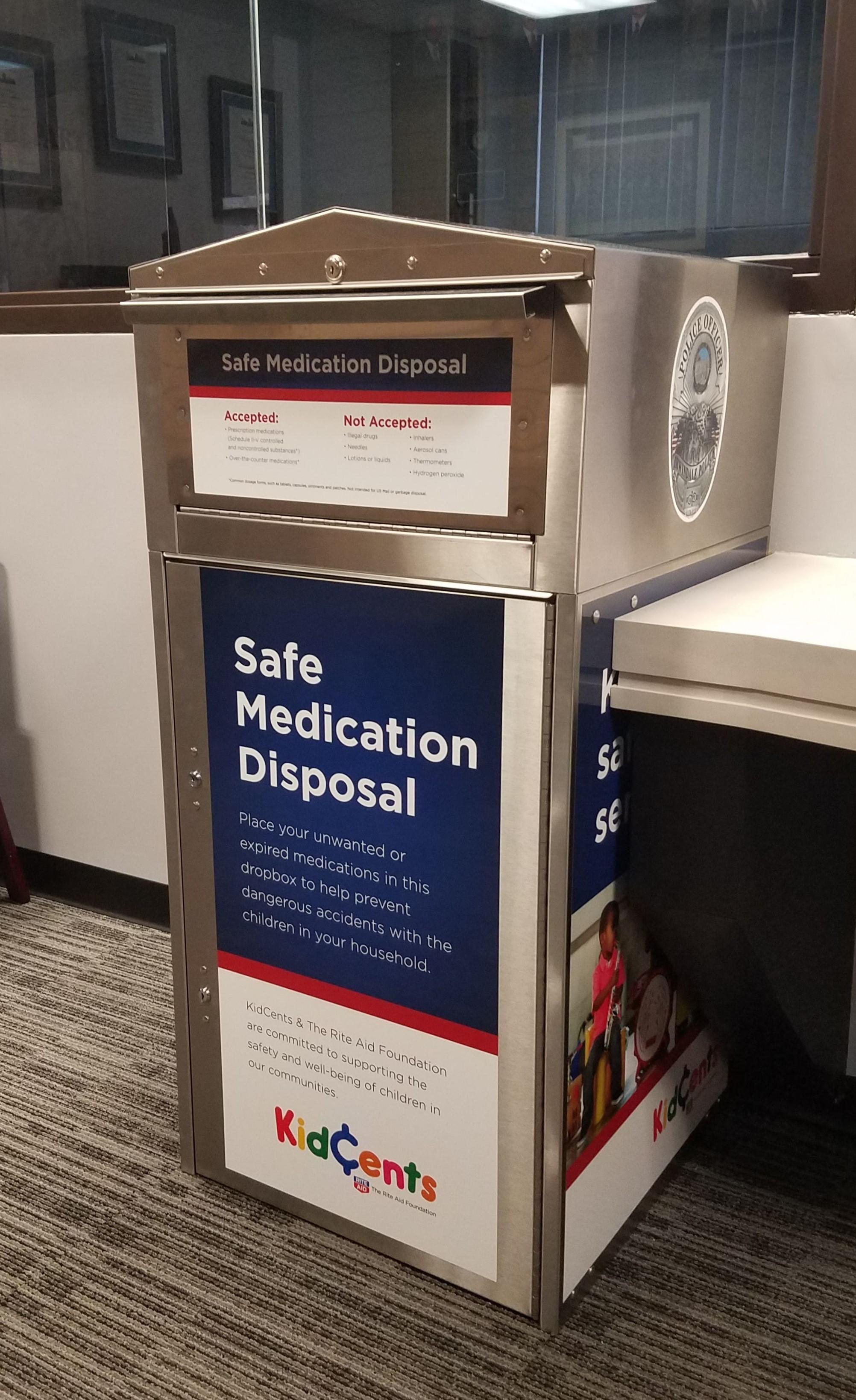 Irwindale Ca Official Website Safe Medication Disposal Program